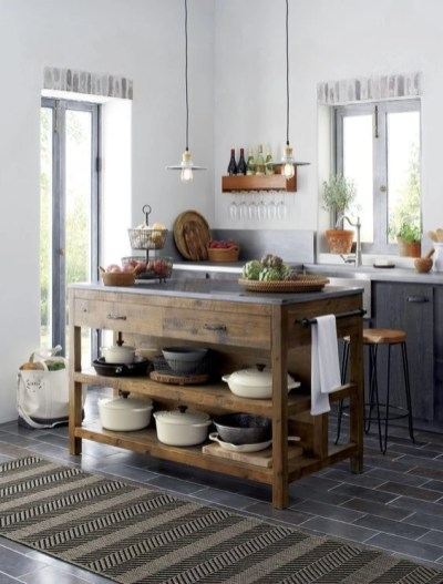 Awesome yet functional kitchen island design ideas 48