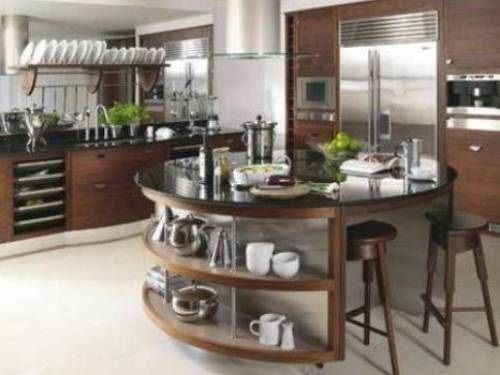 Awesome yet functional kitchen island design ideas 50