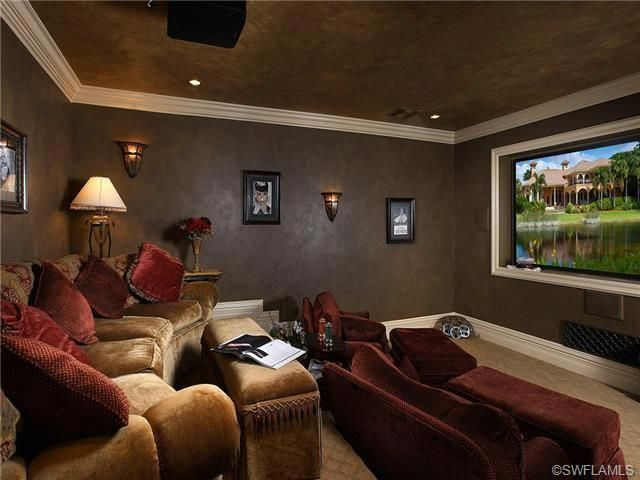 Basement home theater design ideas to enjoy your movie time with family and friends 09