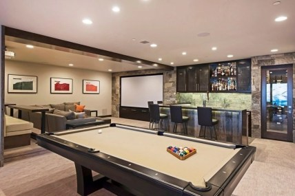 Basement home theater design ideas to enjoy your movie time with family and friends 15