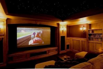 Basement home theater design ideas to enjoy your movie time with family and friends 20