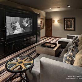 Basement home theater design ideas to enjoy your movie time with family and friends 33