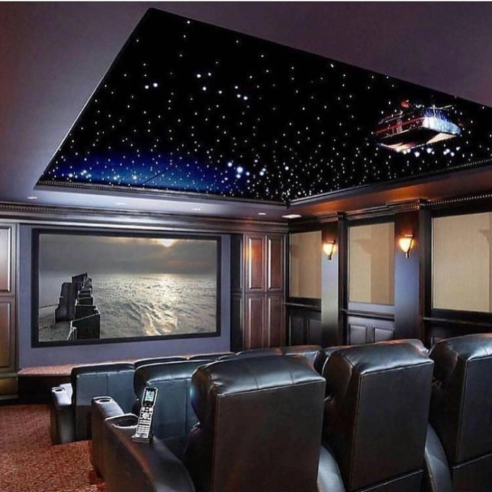 Basement home theater design ideas to enjoy your movie time with family and friends 35