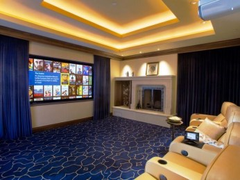 Basement home theater design ideas to enjoy your movie time with family and friends 37