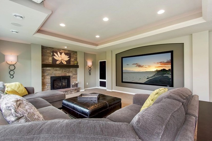 Basement home theater design ideas to enjoy your movie time with family and friends 39