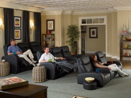 Basement home theater design ideas to enjoy your movie time with family and friends 44
