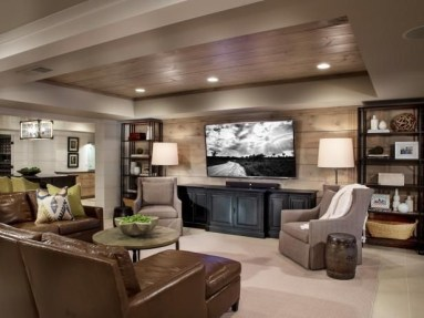 Basement home theater design ideas to enjoy your movie time with family and friends 48