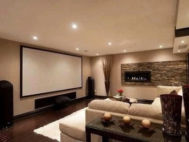Basement home theater design ideas to enjoy your movie time with family and friends 49