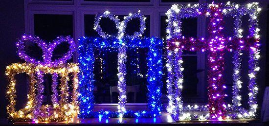 Beautiful diy christmas light decoration ideas 10