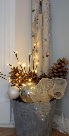 Beautiful diy christmas light decoration ideas 23