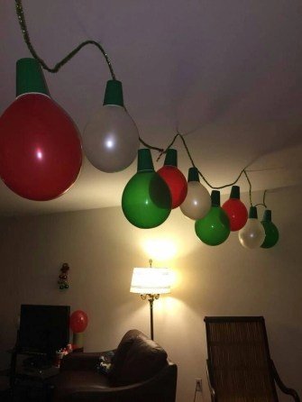 Beautiful diy christmas light decoration ideas 44