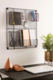 Best diy decor ideas for your home using wire wall grid 10