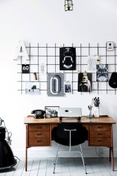 Best diy decor ideas for your home using wire wall grid 15
