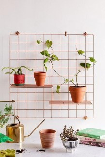 Best diy decor ideas for your home using wire wall grid 28