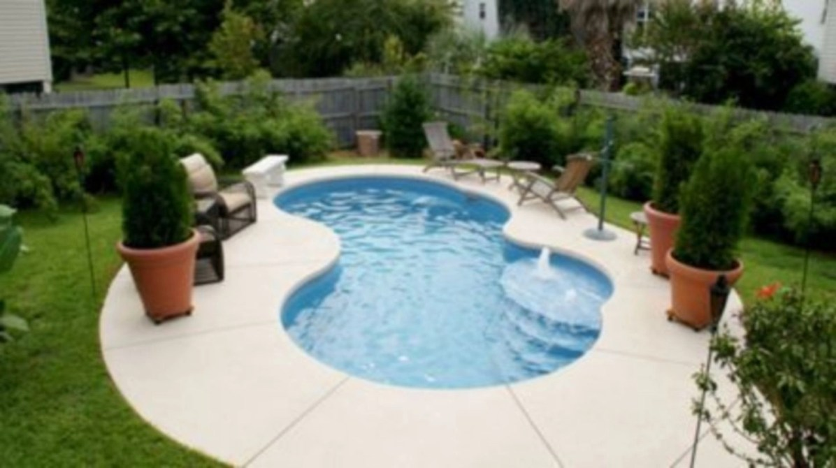 Coolest small pool ideas for your home 53