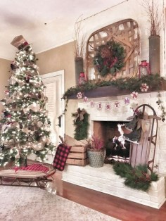Creative diy rustic christmas decorations with wood 07