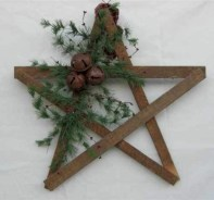 Creative diy rustic christmas decorations with wood 09