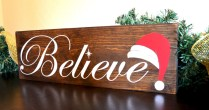 Creative diy rustic christmas decorations with wood 17