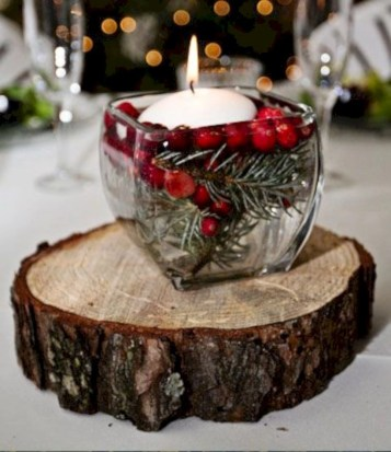 Creative diy rustic christmas decorations with wood 24