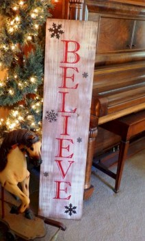 Creative diy rustic christmas decorations with wood 36