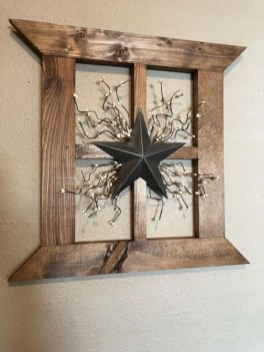 Creative diy rustic christmas decorations with wood 38