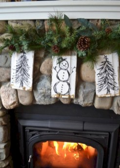 Creative diy rustic christmas decorations with wood 45