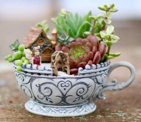 Creative diy fairy garden ideas to try 09