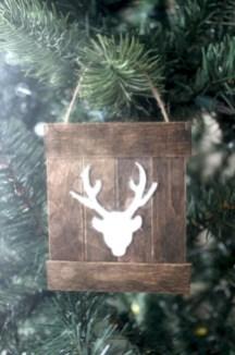 Creative diy farmhouse ornaments for christmas 15