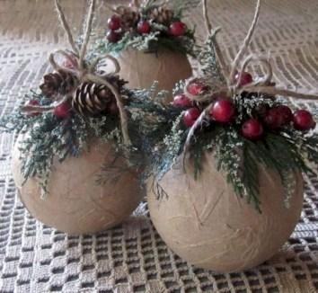 Creative diy farmhouse ornaments for christmas 16