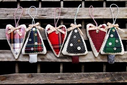 Creative diy farmhouse ornaments for christmas 20