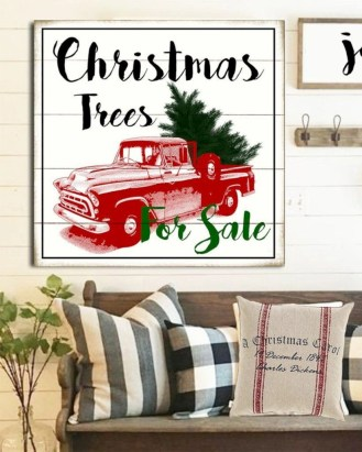 Creative diy farmhouse ornaments for christmas 27