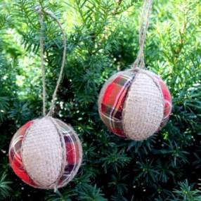 Creative diy farmhouse ornaments for christmas 30