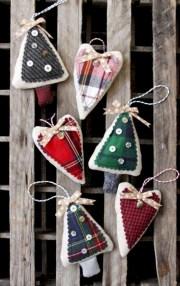 Creative diy farmhouse ornaments for christmas 40