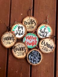 Creative diy farmhouse ornaments for christmas 45