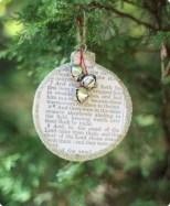 Creative diy farmhouse ornaments for christmas 47