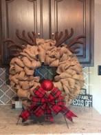 Diy christmas wreath ideas to decorate your holiday season 15
