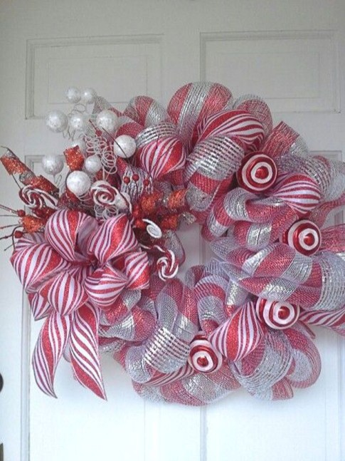 Diy christmas wreath ideas to decorate your holiday season 50