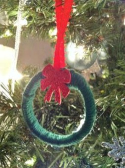 Diy holiday projects using dollar store ornaments 10