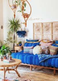 Enthralling bohemian style home decor ideas to inspire you 04