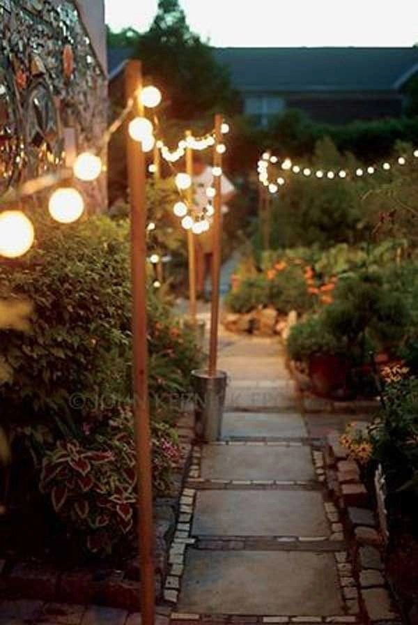 Most beautiful outdoor lighting ideas to inspire you 31