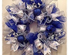 On a budget diy christmas wreath to deck out your door 45