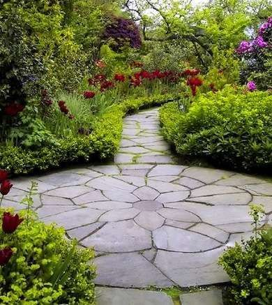 Pathway design ideas for your garden 11
