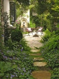 Pathway design ideas for your garden 34
