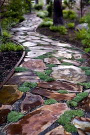 Pathway design ideas for your garden 45