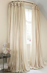 Smart and creative places to hang curtains other than window 05