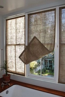 Smart and creative places to hang curtains other than window 08