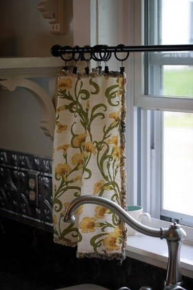 Smart and creative places to hang curtains other than window 27
