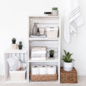 Diy wood crate shelves projects to calm the clutter effectively 17