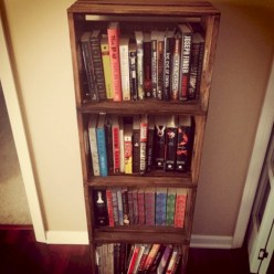 Diy wood crate shelves projects to calm the clutter effectively 44