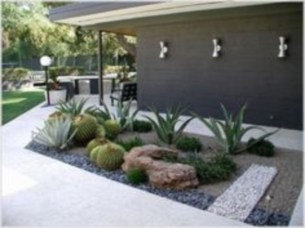 Simple rock garden decor ideas for your backyard 02
